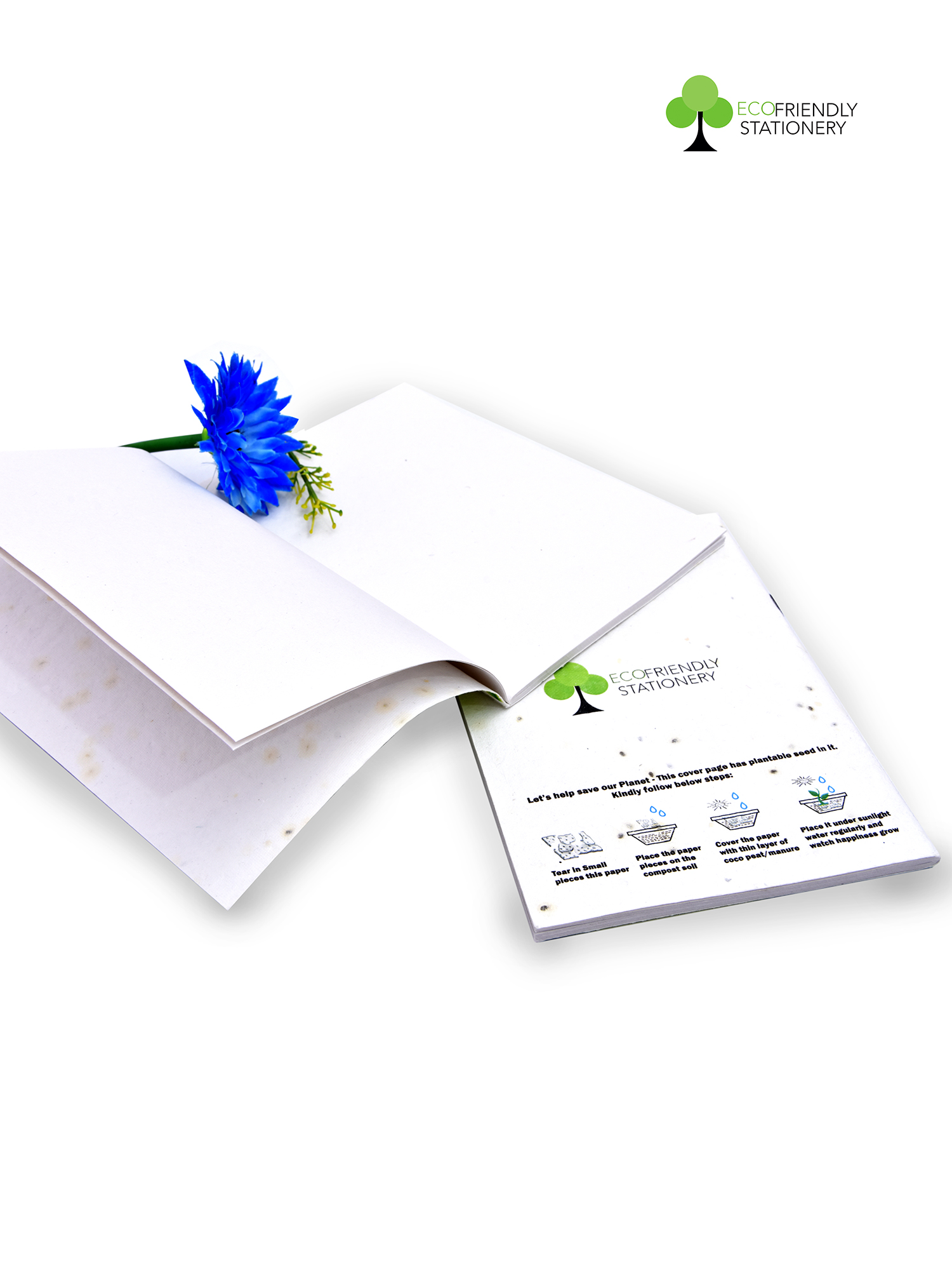 Recycelable Paper NotePad